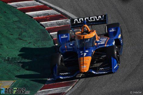 Felix Rosenqvist, McLaren SP, Laguna Seca, 2021