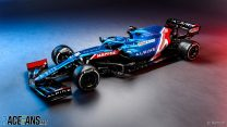 First pictures: Alpine reveals its Formula 1 contender for 2021