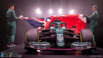 First pictures: Aston Martin reveals its first F1 car for over 60 years