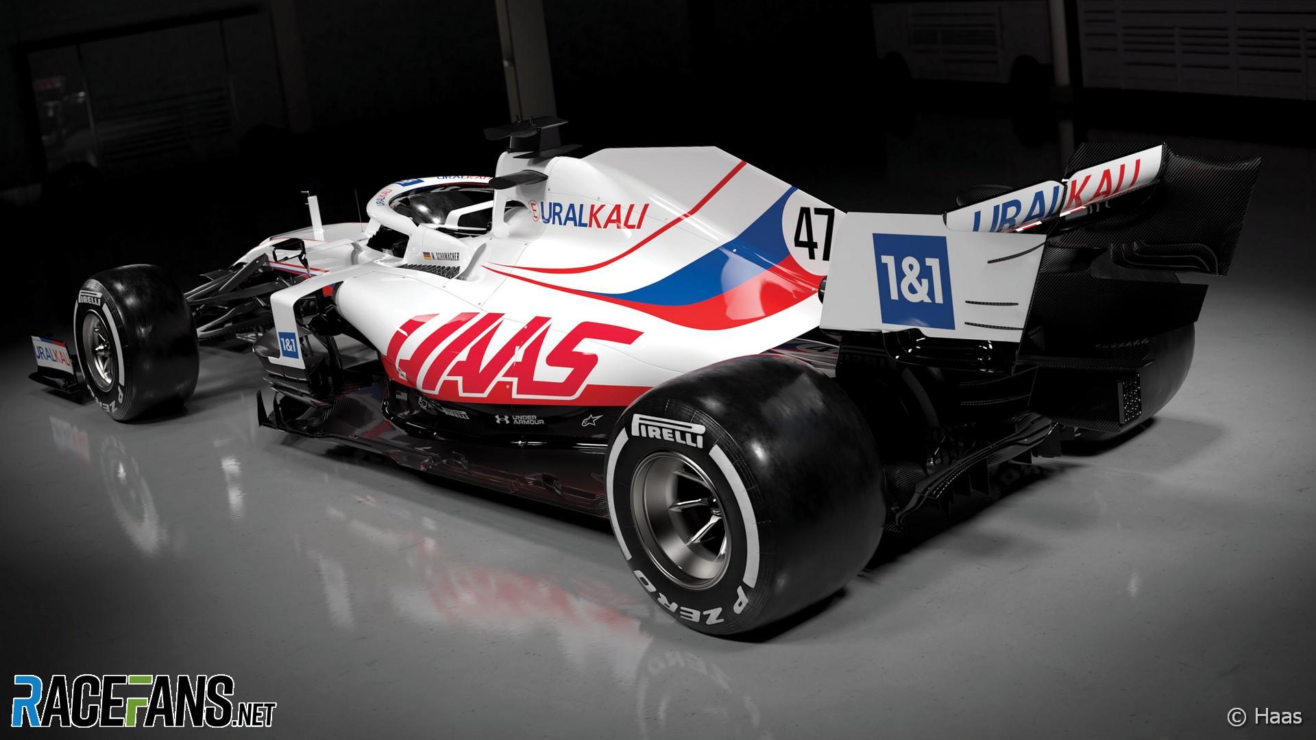 Haas livery, 2021