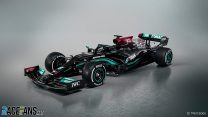 First pictures: Mercedes reveals its new F1 car for 2021