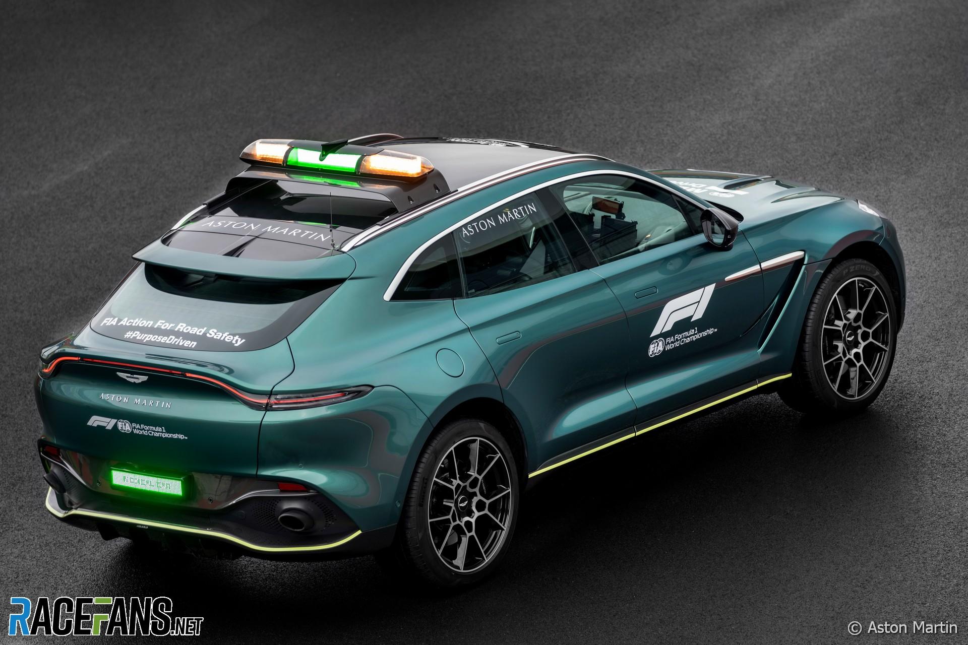 Aston Martin DBX Medical Car, 2021