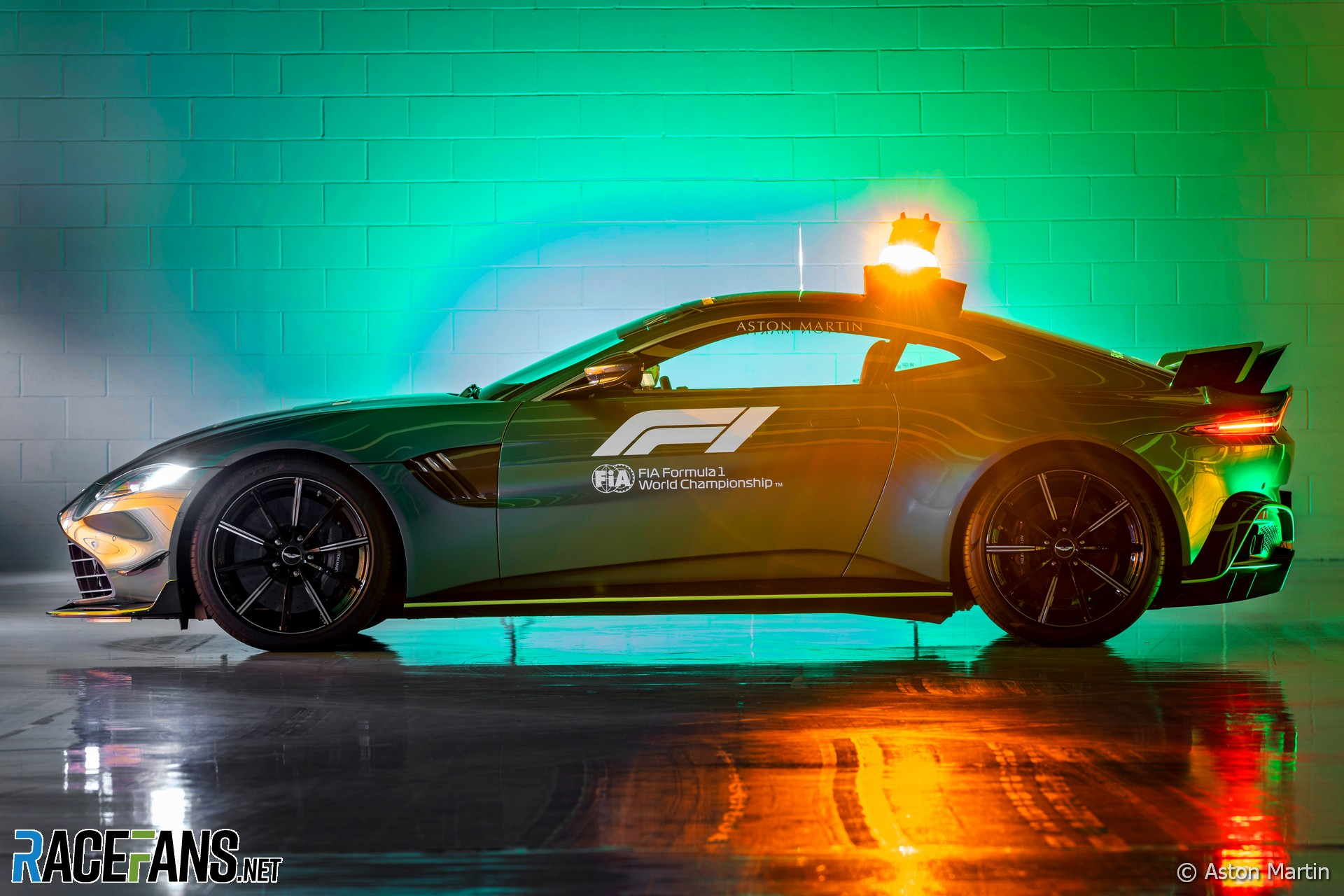 Aston Martin Vantage Safety Car, 2021