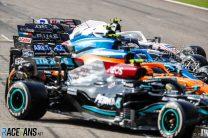 F1 cars, Bahrain International Circuit, 2021