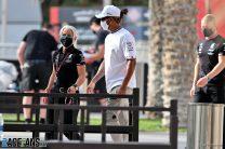 Lewis Hamilton, Mercedes, Bahrain, 201