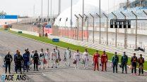 F1 drivers, Bahrain International Circuit, 2021