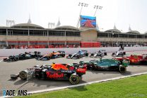 2021 F1 cars, Bahrain International Circuit, 2021