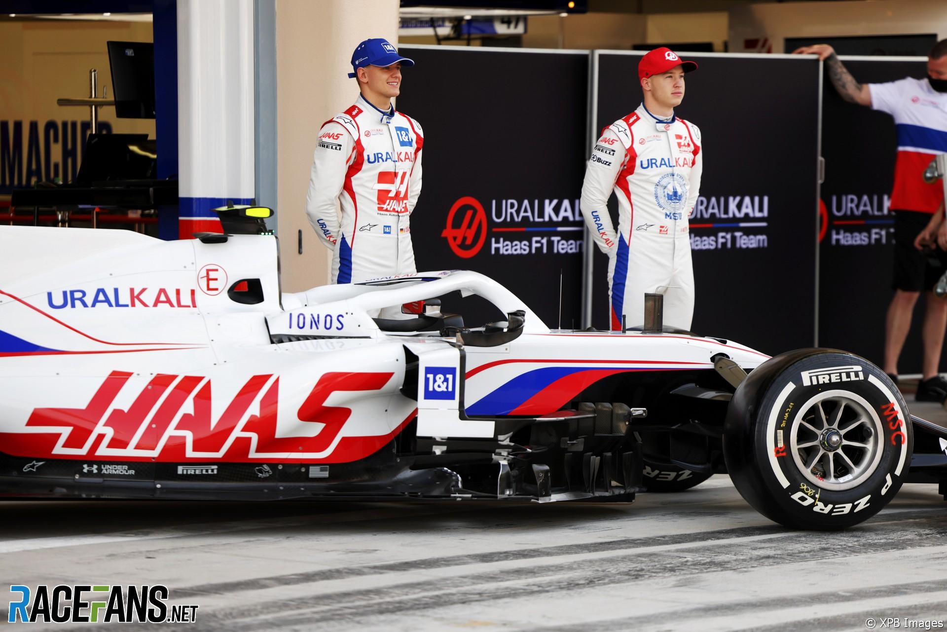 Haas VF-21 launch, Bahrain, 2021