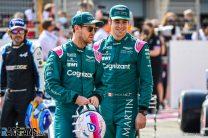 Sebastian Vettel, Lance Stroll, Aston Martin, Bahrain International Circuit, 2021