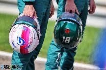 Sebastian Vettel's new helmet, Bahrain International Circuit, 2021