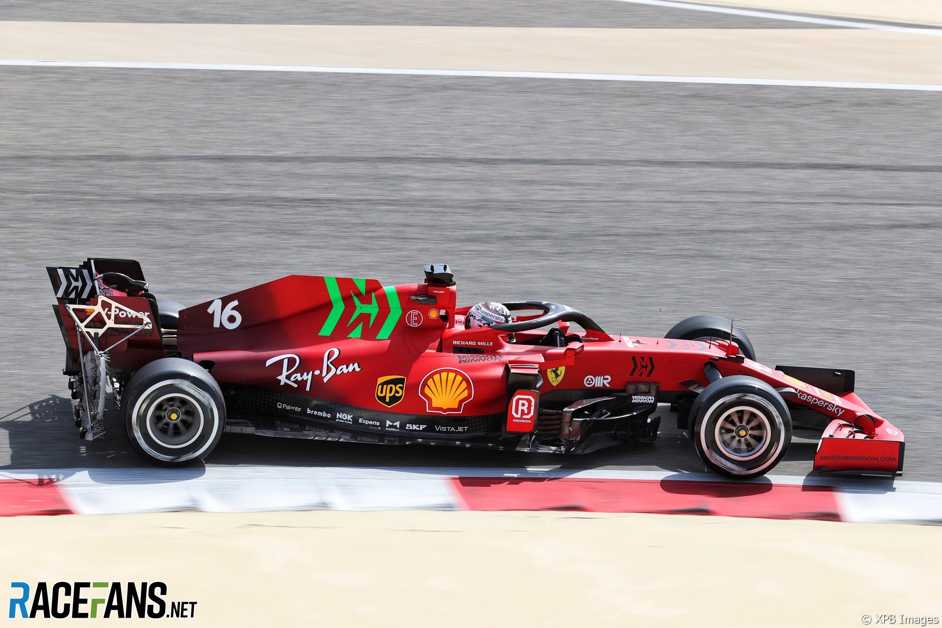 F1 Ferrari Sponsor Explains Surprise New Bright Green Logo Racefans