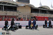 Drivers, Bahrain International Circuit, 2021