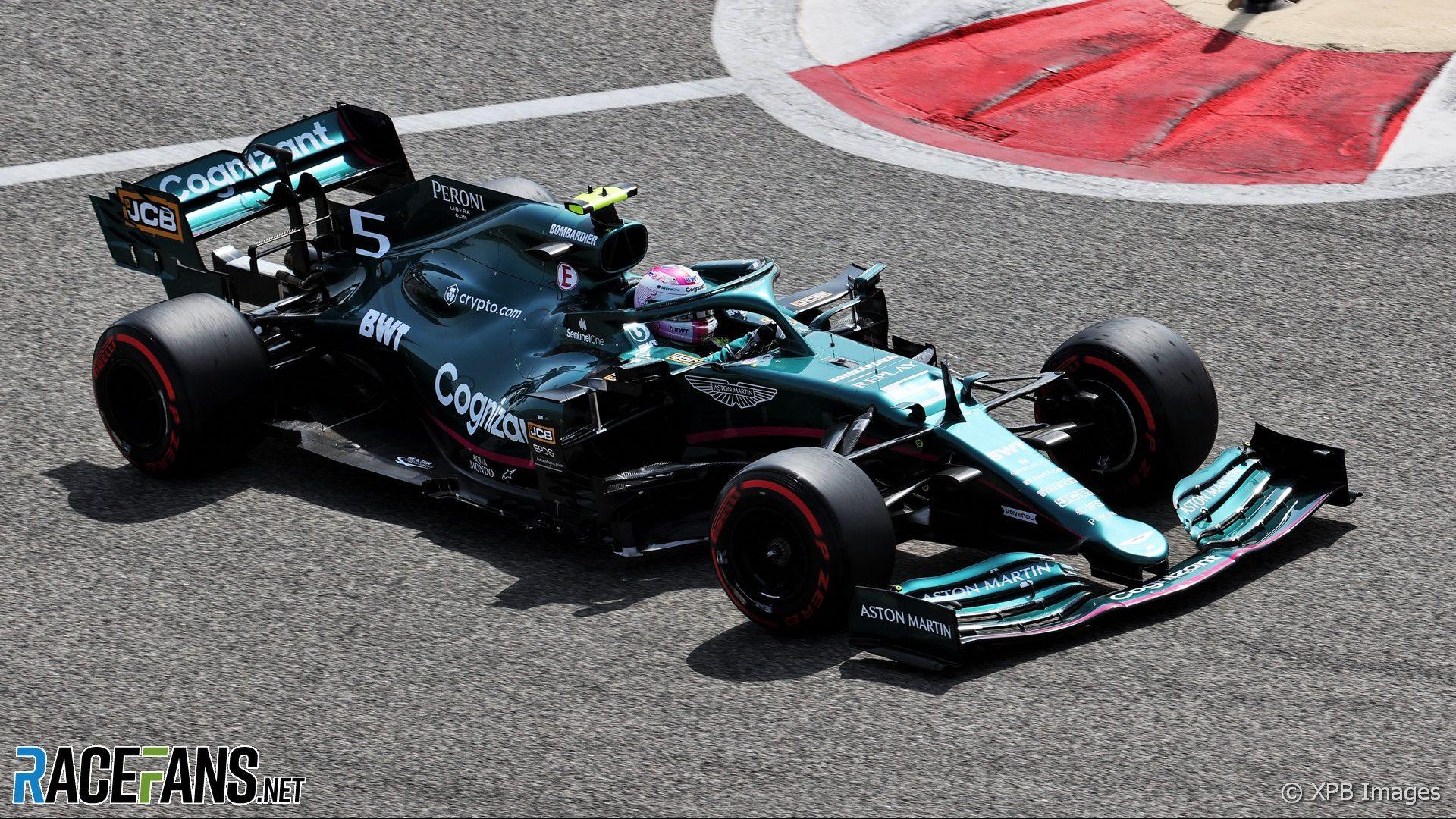 Sebastian Vettel, Aston Martin, Circuito Internacional de Baréin, 2021