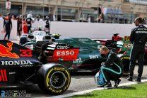 Valtteri Bottas, Red Bull RB16B, Bahrain International Circuit, 2021