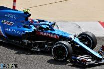 Esteban Ocon, Alpine, Bahrain International Circuit, 2021