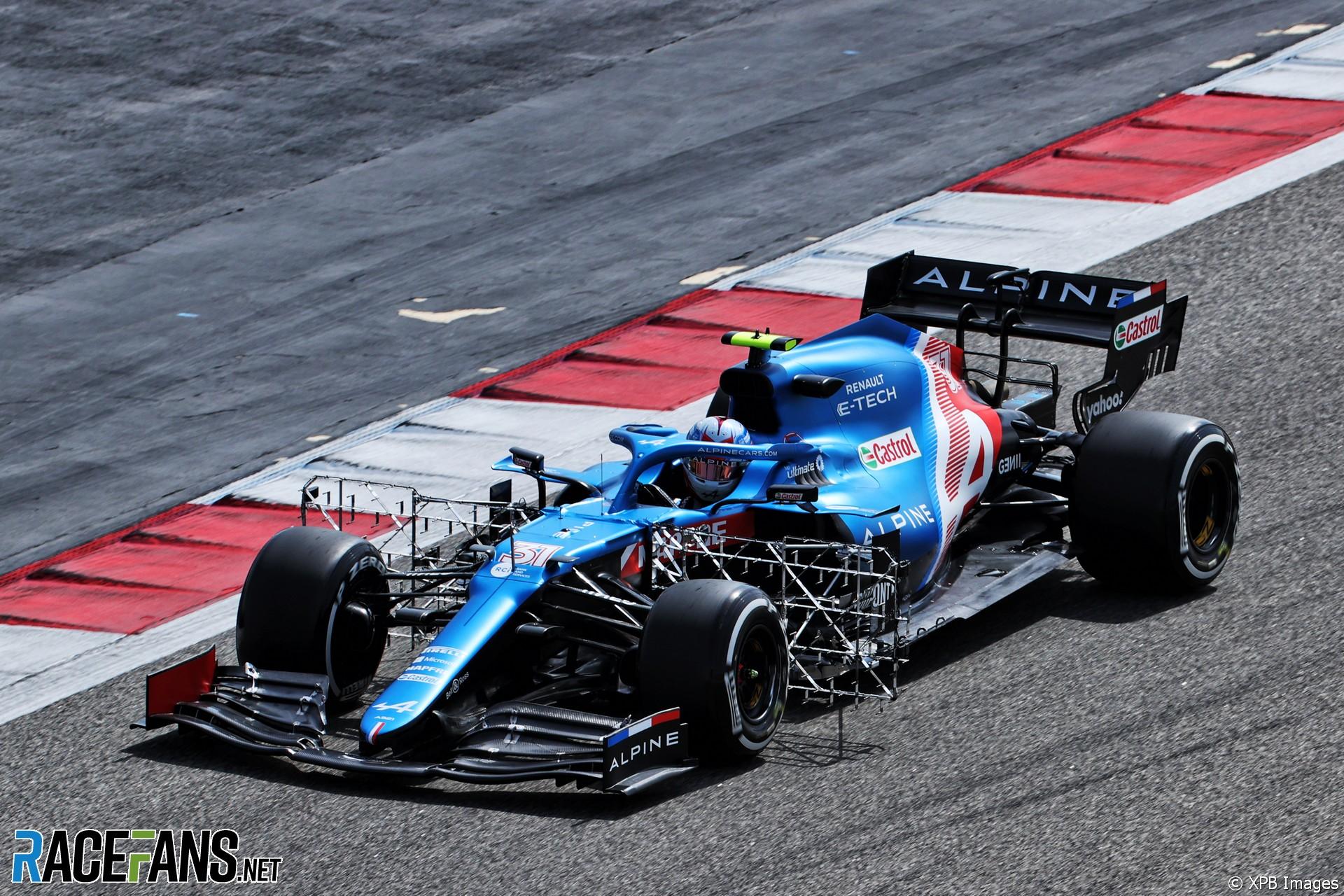 Последние твиты от esteban ocon (@oconesteban). Esteban Ocon, Alpine, Bahrain International Circuit, 2021 ...