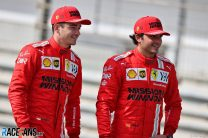 Charles Leclerc, Carlos Sainz Jnr, Ferrari, Bahrain International Circuit, 2021