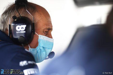 Franz Tost, AlphaTauri, Bahrain International Circuit, 2021