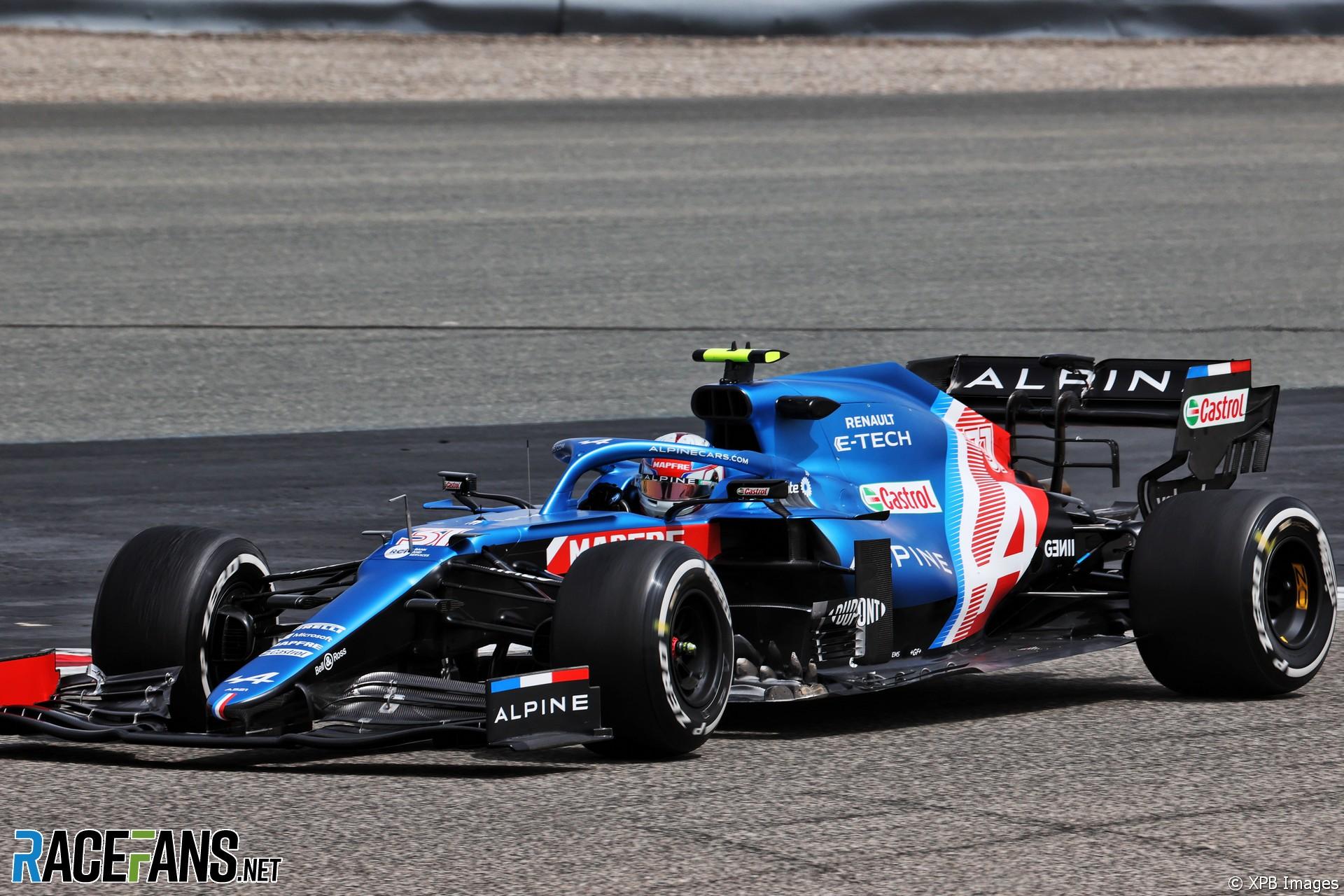 Esteban Ocon, Alpine, Circuito Internacional de Baréin, 2021