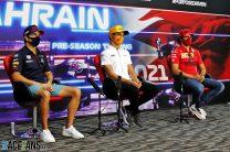 Sainz and Perez had Covid-19 vaccinations in Bahrain