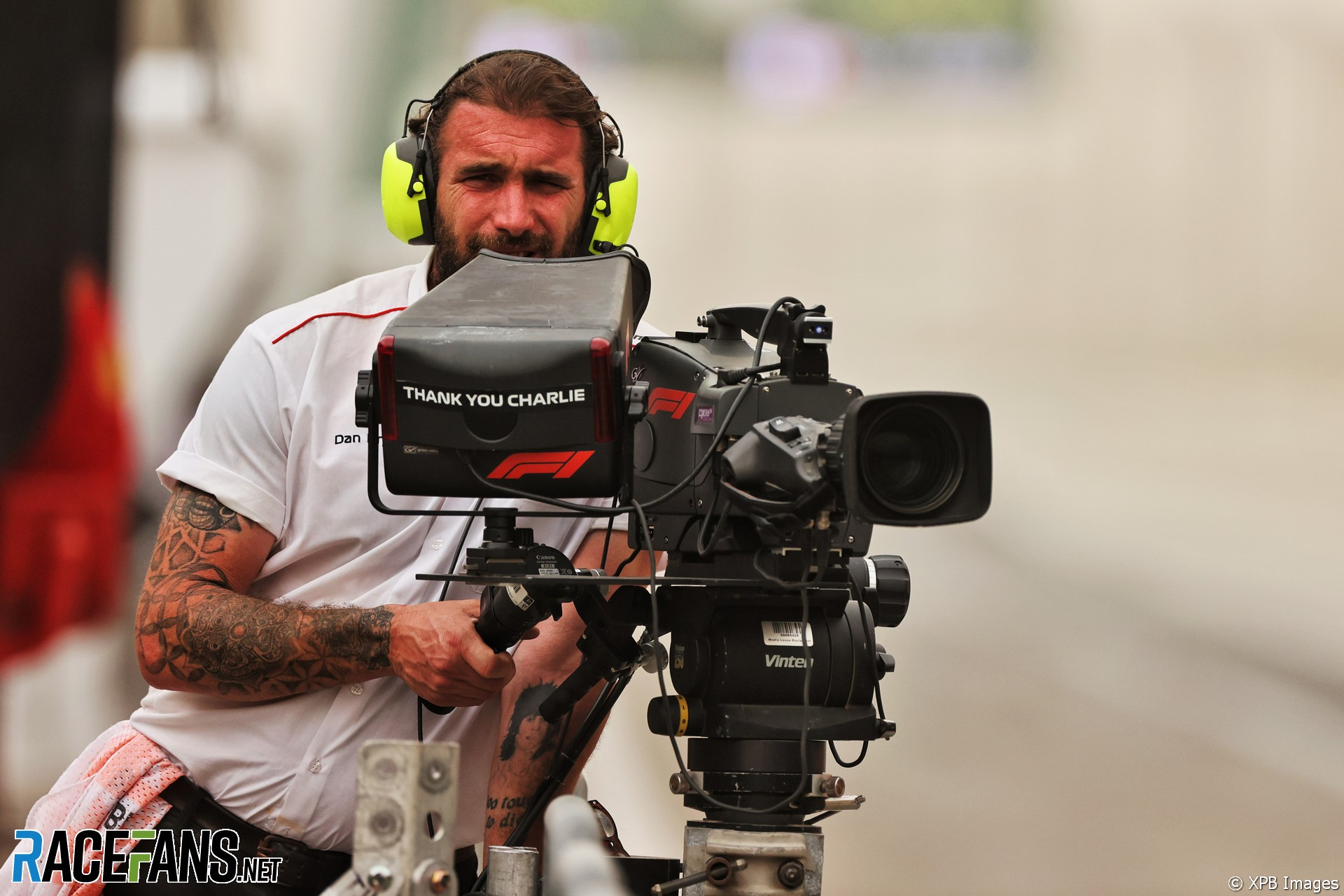 Cameraman, Bahrain International Circuit, 2021