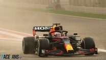 Verstappen quickest for Red Bull as sandstorm hits Bahrain test