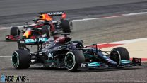 """Hamilton excited by """"quite impressive"""" pace of three rival teams in testing"""