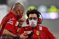 Mattia Binotto, Ferrari, Bahrain International Circuit, 2021