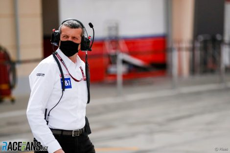 Guenther Steiner, Haas, Bahrain International Circuit, 2021