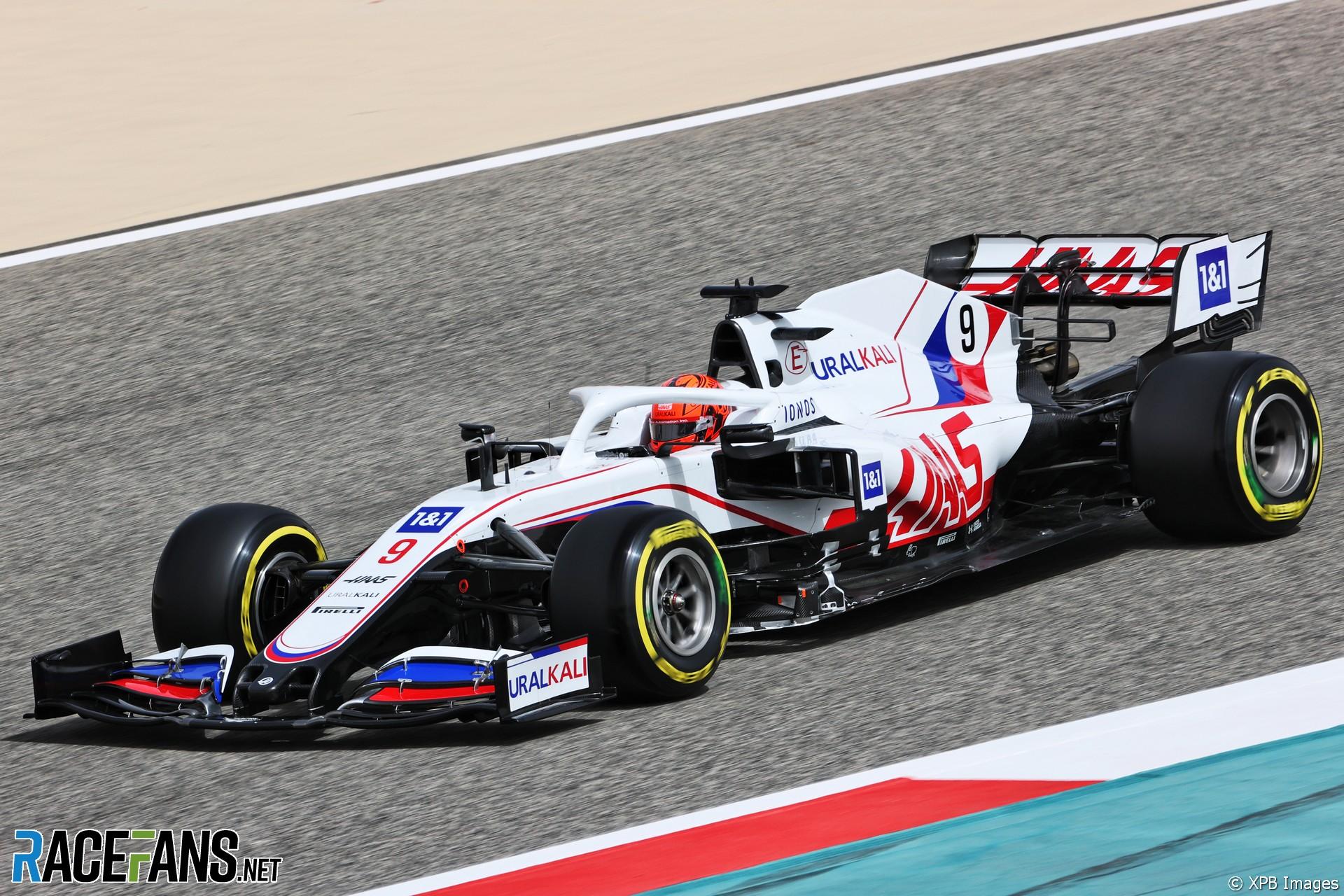 Nikita Mazepin, Haas, Circuito Internacional de Baréin, 2021