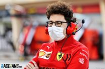 "Binotto ""relieved"" by Ferrari's progress at start of season"