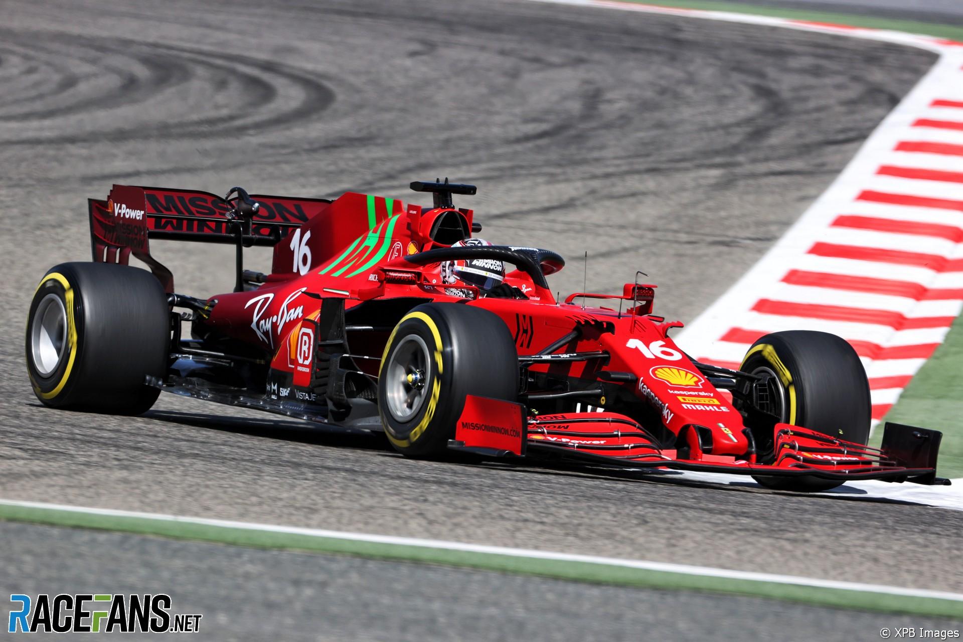 Charles Leclerc, Ferrari, Circuito Internacional de Baréin, 2021
