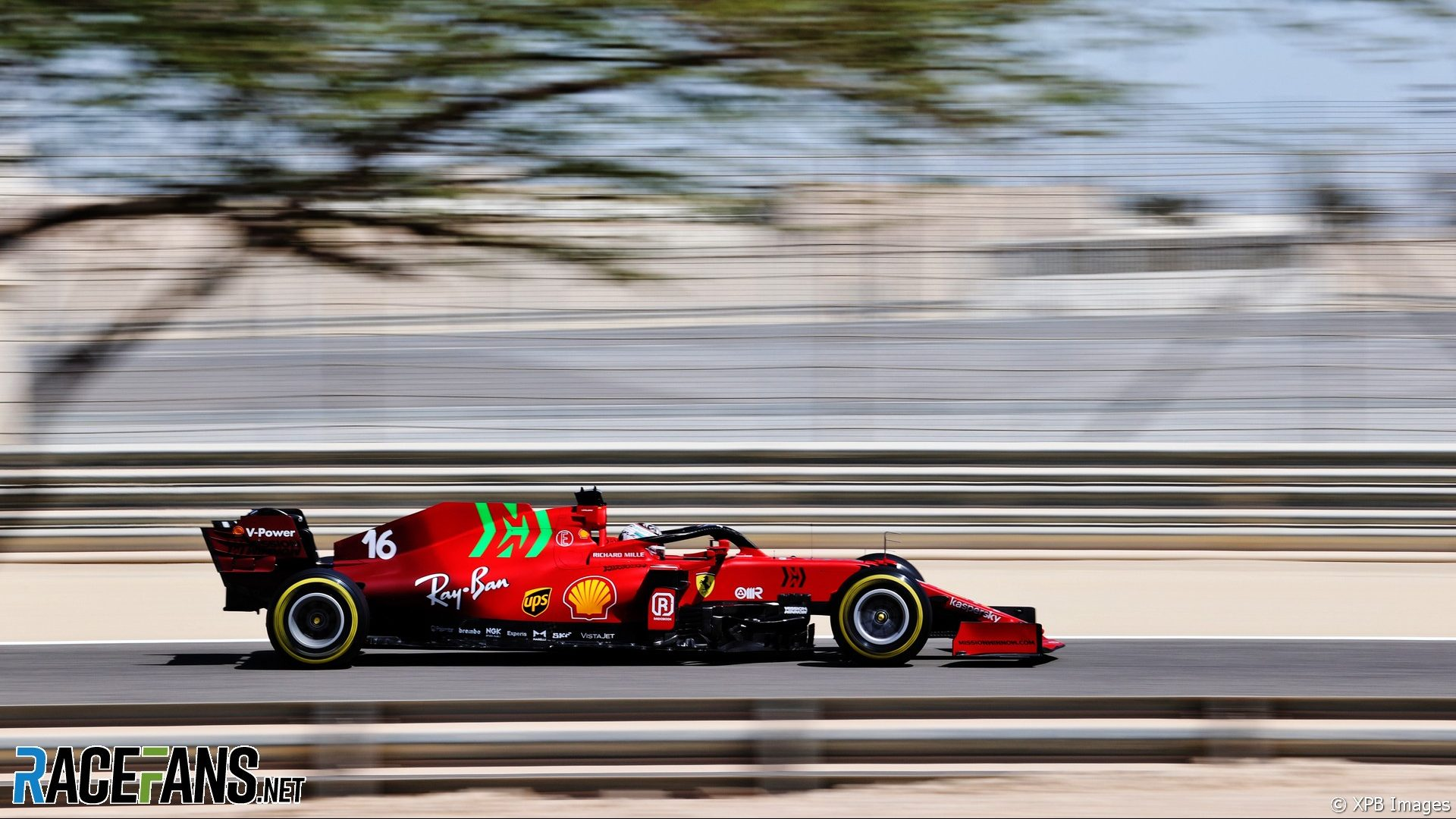 Charles Leclerc, Ferrari, Bahrain International Circuit, 2021