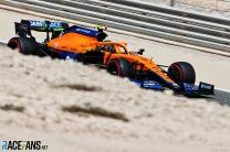 Lando Norris, McLaren, Bahrain International Circuit, 2021