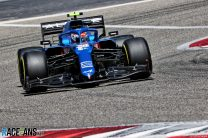 Esteban Ocon, Alpine, Bahrain International Circuit, 2021