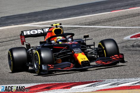 Sergio Perez, Red Bull, Bahrain International Circuit, 2021