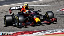 Perez sets quickest time of test so far in last pre-season run for Red Bull