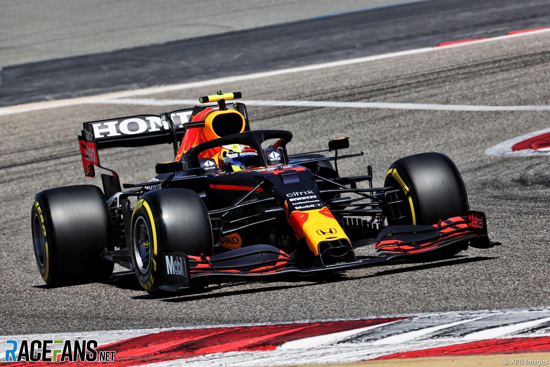 Sergio Pérez, Red Bull, Circuito Internacional de Baréin, 2021