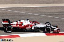 Kimi Raikkonen, Alfa Romeo, Bahrain International Circuit, 2021