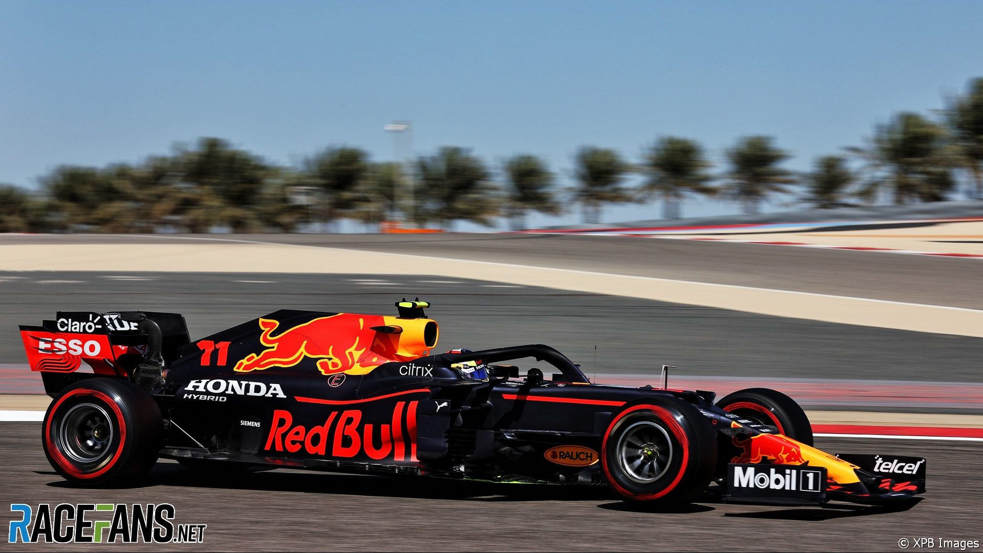 Sergio Perez, Red Bull, Bahrain International Circuit, 2021
