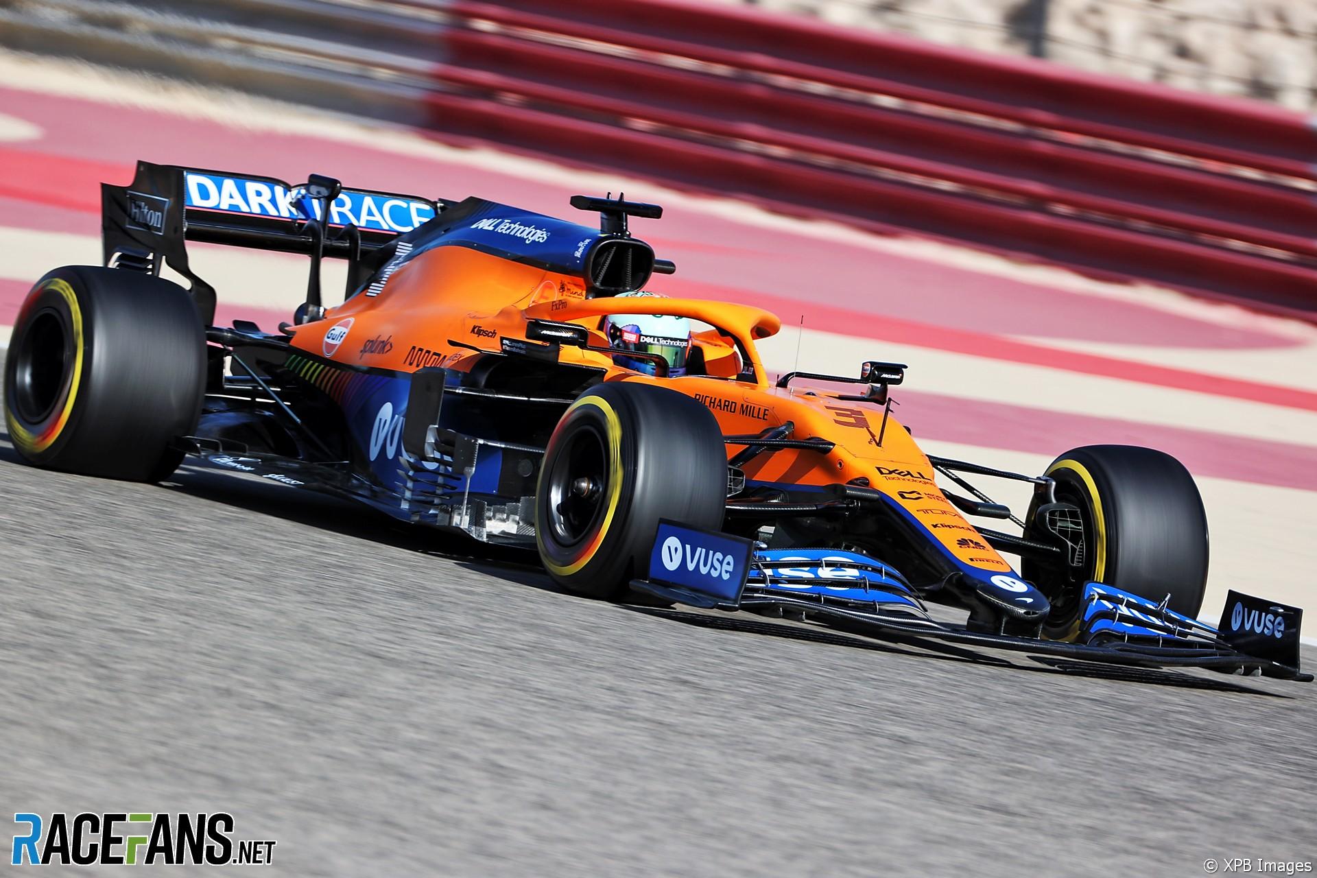 Daniel Ricciardo, McLaren, Circuito Internacional de Baréin, 2021