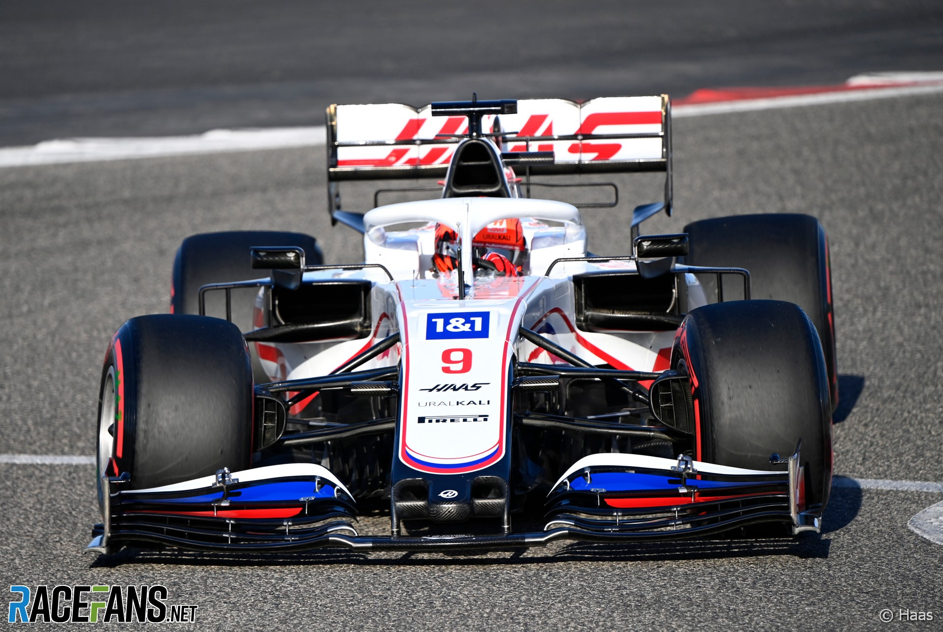 Nikita Mazepin, Haas, Bahrain International Circuit, 2021