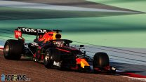 Verstappen pips Tsunoda in Honda-powered one-two as testing ends