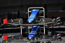 Alpine A521 front wing, Bahrain International Circuit, 2021