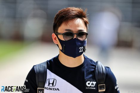 Yuki Tsunoda, AlphaTauri, Bahrain International Circuit, 2021