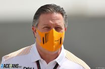 Zak Brown, McLaren, Bahrain International Circuit, 2021