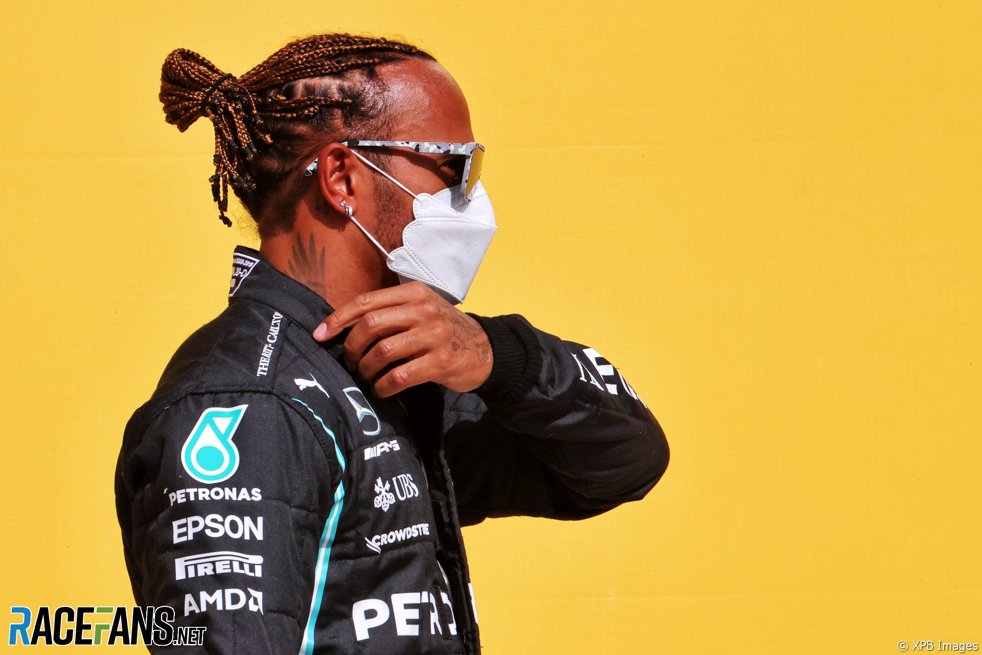 Lewis Hamilton, Mercedes, Bahrain International Circuit, 2021