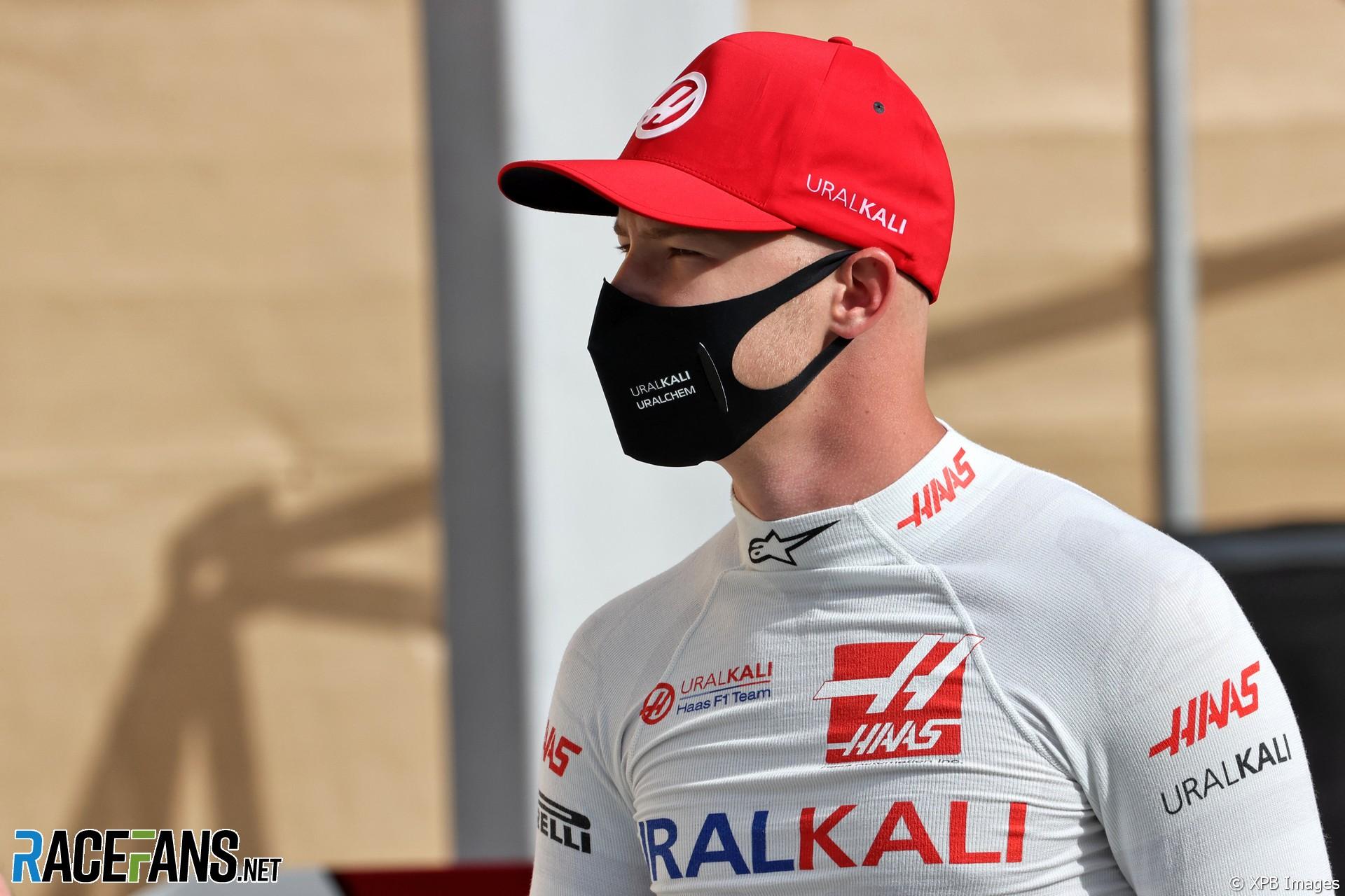 Nikita Mazepin, Haas, Bahrain International Circuit, 2021