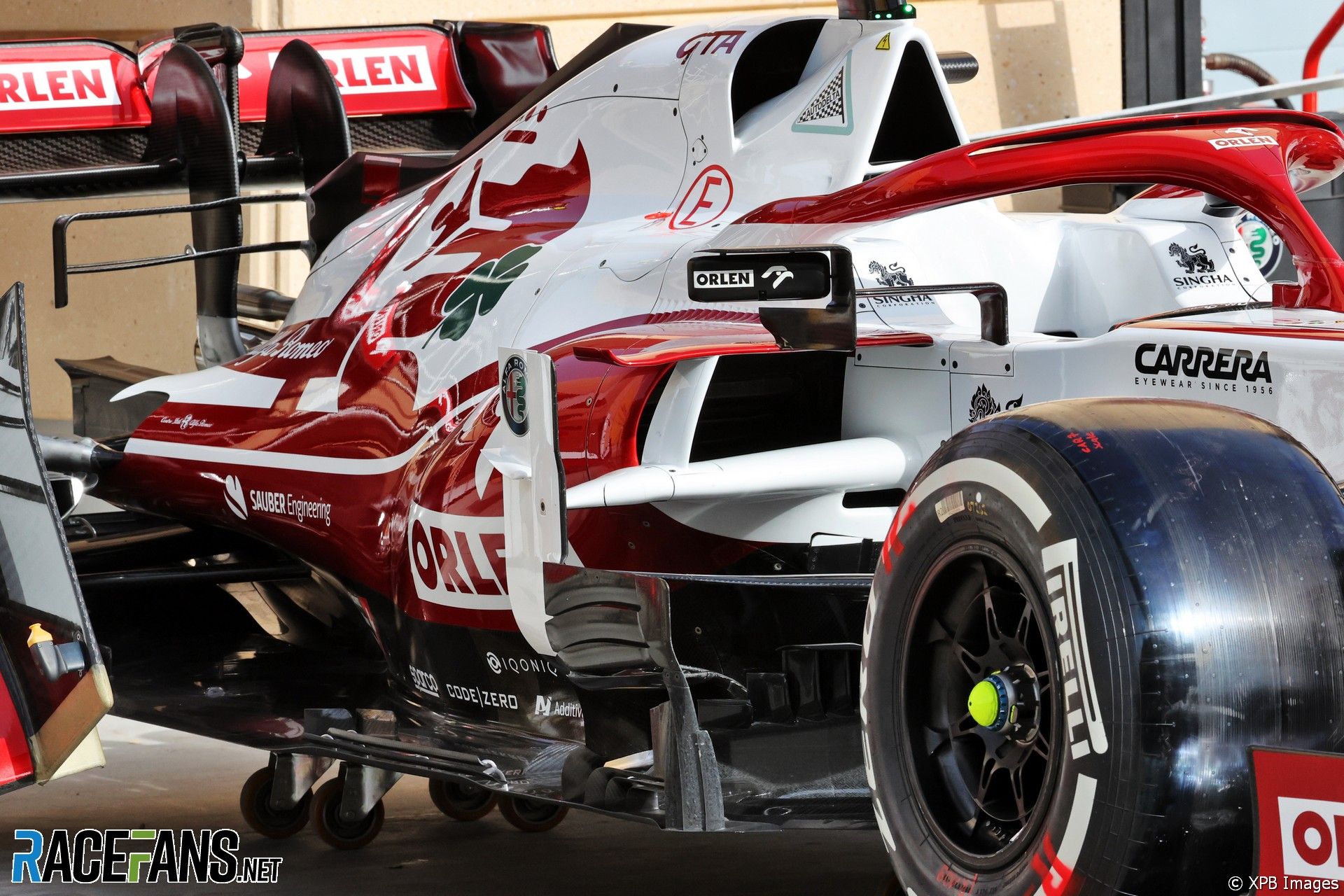 Alfa Romeo C41, Bahrain International Circuit, 2021