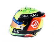 Mick Schumacher's 2021 F1 helmet